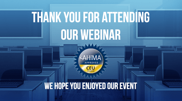 Thank you for joining our webinar_